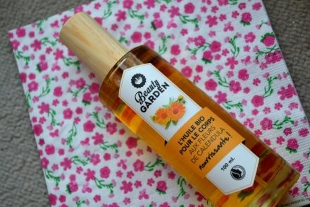 beauty garden huile nourrissante