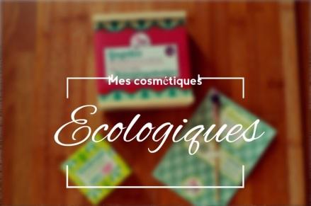 mes cosmétiques écologiques